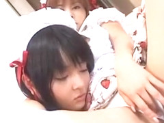 Incredible Japanese whore Hitomi Yoshino, Miku Hoshino in Hottest Lesbian/Rezubian, Masturbation/O.