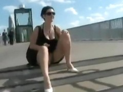 Mad german brunette hair put a stud to filmed her risky sex pleasure outdoors,damn!