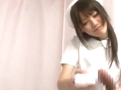Horny Japanese whore Yui Uehara in Exotic Stockings/Pansuto, Cunnilingus JAV clip