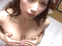 Hottest Japanese girl Risa Kasumi in Incredible Wife JAV clip
