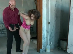 FOREIGN EXCHANGE SLAVE! French Student Suffers in Sexual Punishment!