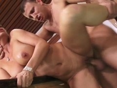 Diamond Foxxx gets nailed by Mr. Pete