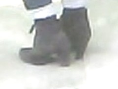 High Heels Ankle Boots Candid