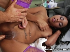 Katt Dylan in Asian Sex Delinquents: Pedicure Pussy