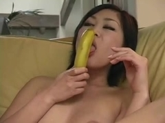 Amateur - Asian Deep Banana girl