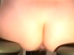 Hawt wife cumming on her BBC fuck machine