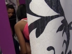 Hot Heather is tricked and made posing nude!