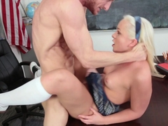 Best pornstar Cleo Vixen in Hottest Small Tits, Stockings adult movie