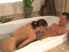Best pornstar Katie Jordan in Fabulous Showers, Blowjob adult video