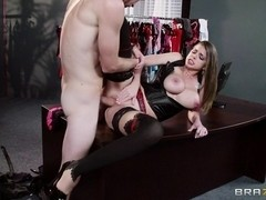Big Tits at Work: The Intern's Hands-on Training. Brooklyn Chase, Danny D