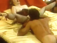 Hottest facial vintage video with Kurt Mann and Dr. Infinity