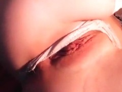 KarryX shows her pussy