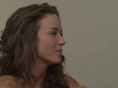 Best pornstars Malena Morgan, Jelena Jensen in Incredible Fingering, Lesbian adult scene