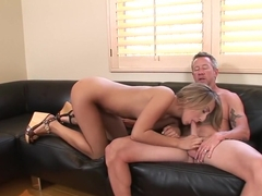 Fabulous pornstar Natalia Rossi in crazy small tits, blonde adult movie