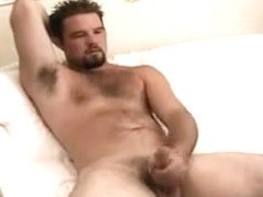 Amazing male in incredible handjob gay sex movie