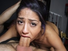 Julia De Lucia in Punished The Right Way Movie