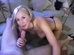 Naught milf caught in action