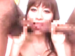 Exotic Japanese model in Crazy Facial, Blowjob/Fera JAV video