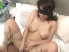 Horny Japanese chick in Exotic BDSM, POV JAV video