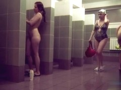 Hidden cameras in public pool showers 823