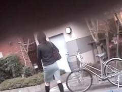 Please bend over your bicycle more so I can skirt shark you