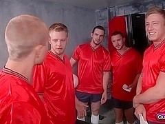 Colt Rivers,Phenix Saint,Rob Ryder,Steve Stiffer,Tom Faulk a horny team of players.