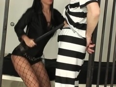 The Hot Prisoner Guard & The Inmate