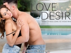 Sara Luvv & Seth Gamble in Love Desire Video