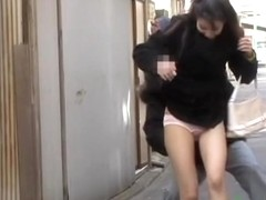Long-haired oriental sweetie getting totally exposed by some kinky bloke