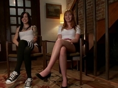 Crazy redhead, fetish xxx clip with incredible pornstars Krysta Kaos, Marie McCray and Lorelei Lee from Wiredpussy