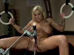 Amazing fetish sex video with crazy pornstar Lylith Lavey from Fuckingmachines