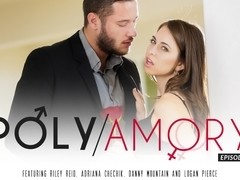 Riley Reid & Adriana Chechik & Danny Mountain & Logan Pierce in Polyamory, Episode 1 Video