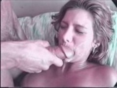 Doll enjoys splash of cum