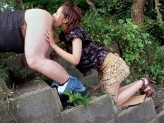Horny Japanese model Ruri Saijou in Exotic JAV censored Swallow, Gangbang scene