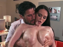 Tessa Lane is fucked hard as hell by her boss