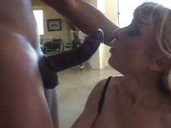 Nina Hartley with dark pecker