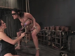 Amazing brunette, fetish adult video with hottest pornstar Charley Chase from Wiredpussy