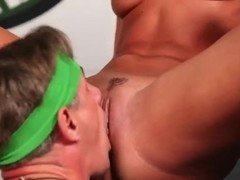 Completely crazy porn show and public pussy licking will take your head away