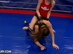 NudeFightClub presents Ashley vs Alexa Wild