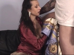 Trinity-Productions: Handjob Blowjob Purple