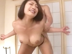 Crazy Japanese chick Reiko Kobayakawa in Fabulous Fetish, Stockings/Pansuto JAV scene