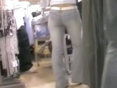 Compelling street candid cam video of amazing behinds
