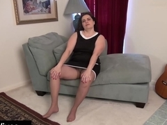 USAWIVES - Big toy gets deep into Charlie's pussy