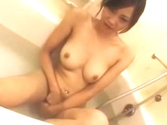Crazy Japanese whore Natsumi Horiguchi in Hottest Dildos/Toys, Showers JAV clip