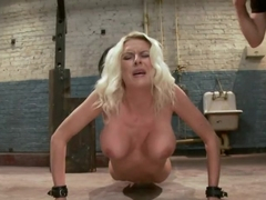 The Training of a Big Tit, Bleach Blonde Porn Star, Day One