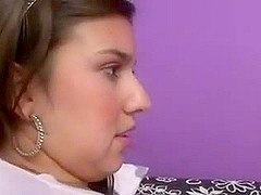 Girl licks a very big latin chick ass