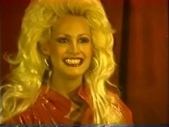 Lonely vintage blonde milf solo act