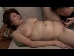 Old and horny Asian moms getting banged real hard