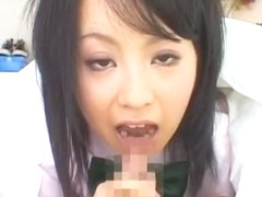 Fabulous Japanese model Hazuki Okita in Hottest Blowjob/Fera JAV scene