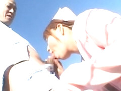 Best Japanese slut Nana Mochizuki in Fabulous Nurse/Naasu, Outdoor JAV scene